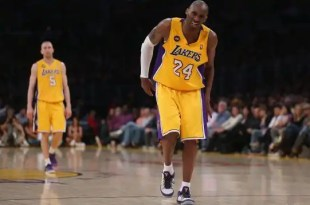 Kobe Bryant estara entre 9 meses de baja por una lesion