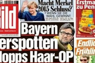 Angela Merkel se jubilaría en 2015