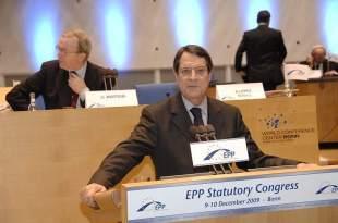 El presidente de Chipre hace su primera remodelación del Ejecutivo