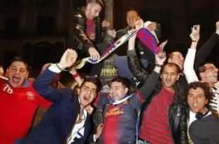 El Barcelona campeon de la Liga sin jugar
