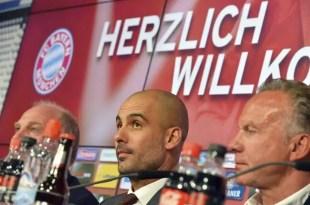 Pep Guardiola llega a Múnich