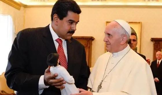 La visita de Nicolás Maduro al Papa Francisco