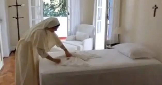 Conoce la habitación donde se alojará el Papa en Brasil - Fotos