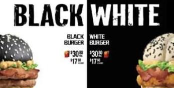 Conoce las hamburguesas edición limitada 'Blanco y Negro' de McDonald's-1