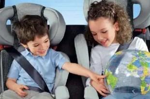 Consejos para extremar la seguridad de los niños en el automóvil