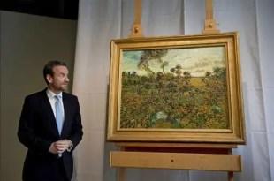 Descubren en Amsterdam una nueva pintura de Vincent Van Gogh