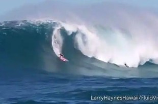 Insólito: Ola gigantesca engulle al surfista Kirk Passmore - Vídeo