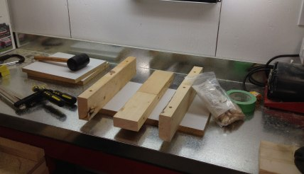 the makings of a bench