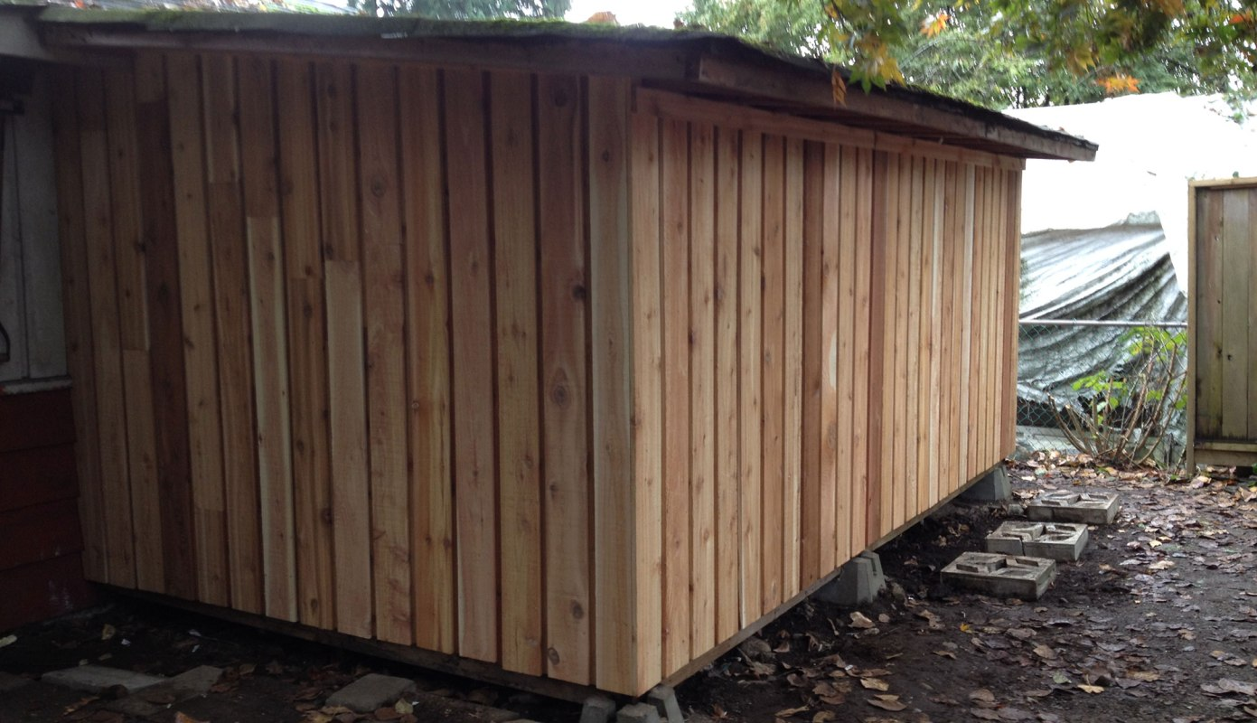 Now that is a Sitka shed!
