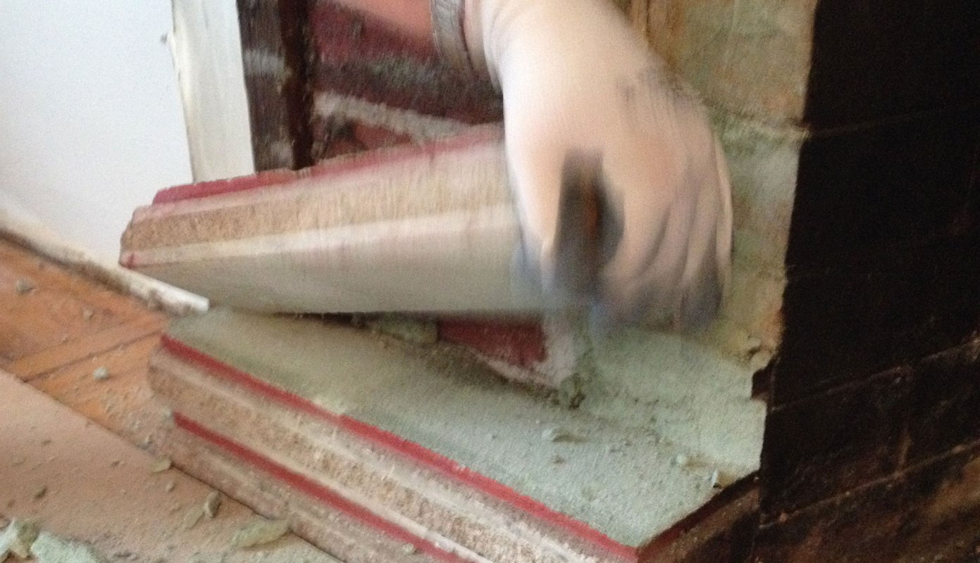 Removing the facade brick by brick