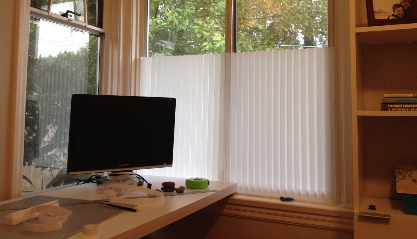 Our paper shade...not bad for $4