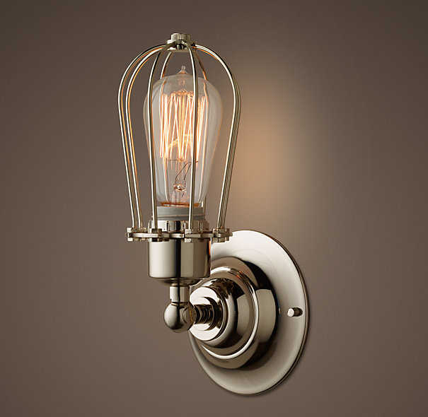 The inspiration sconce that we didn't like the price tag of
