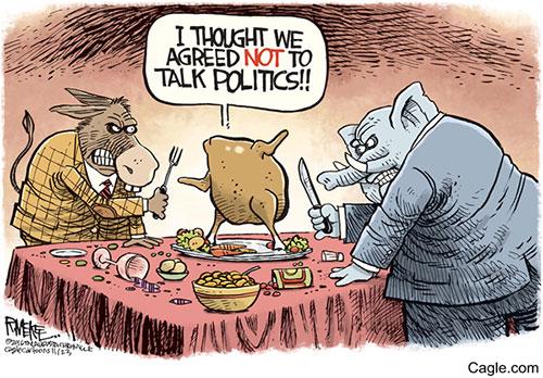 Image result for thanksgiving politics