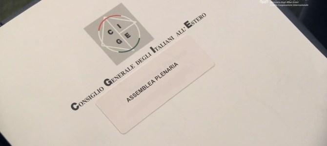 CONSIGLIO GENERALE DEGLI ITALIANI ALL'ESTERO (Farnesina, Sala Conferenze Internazionali, 4/6 luglio 2018) RELAZIONE DI GOVERNO