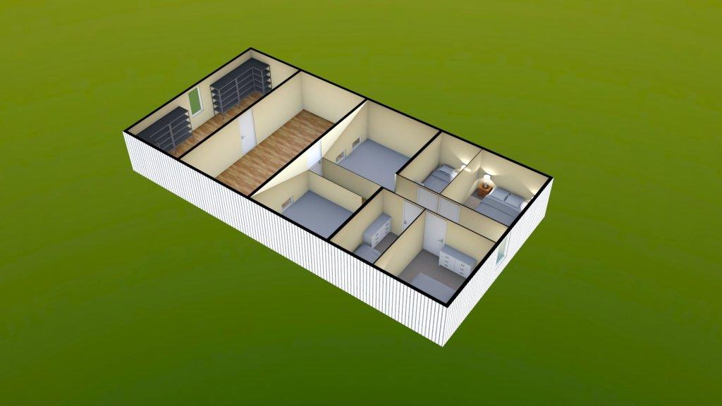 Sit Perpetuum Lodge - First Floor Render 1
