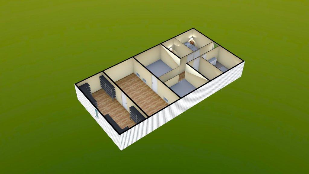 Sit Perpetuum Lodge - First Floor Render 2