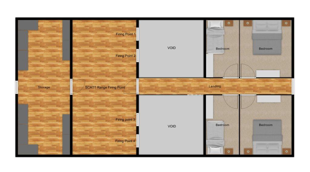 Sit Perpetuum Lodge - First Floor Plan