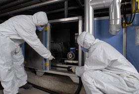 pulizia sanificazione condotte aria