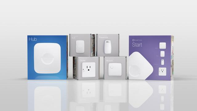 Gadgets from SmartThings, now part of Samsung