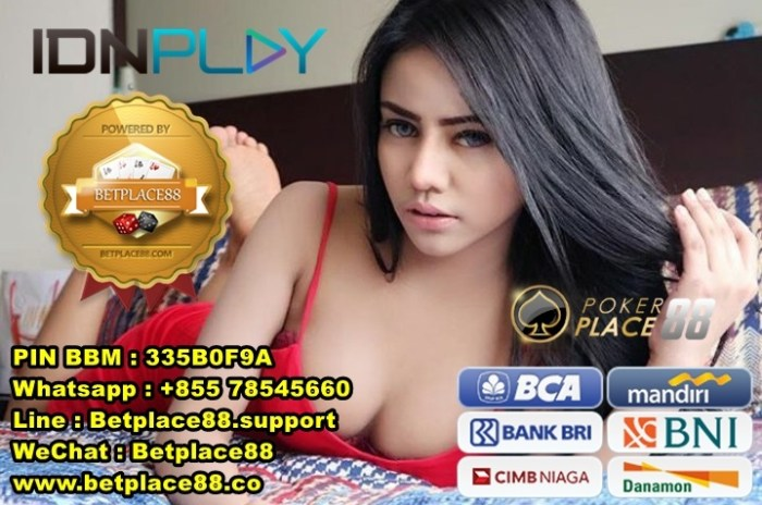 Deposit IDN Poker IDNPlay