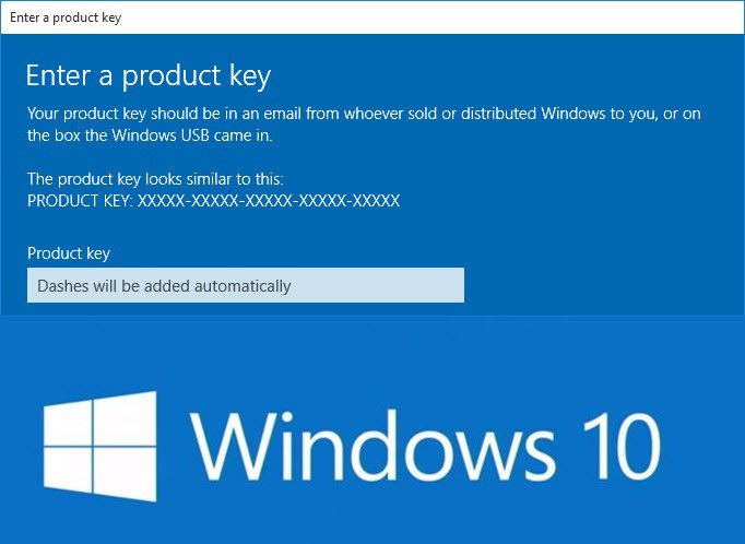 Upgrade Windows 10 Home To Pro With Product Key Or Digital ...