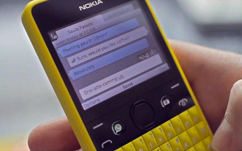 Download] WhatsApp for Nokia Asha 200 and Nokia Asha 201
