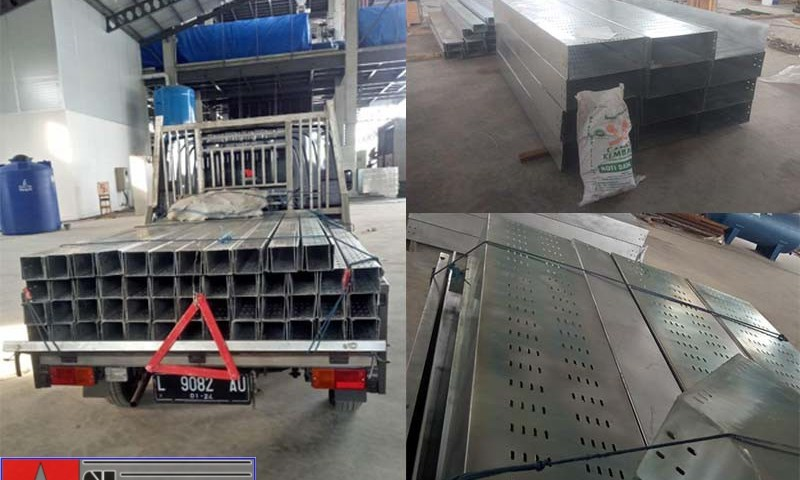 instrument cable tray