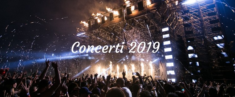 Concerti 2019