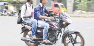 बाइक चलाना