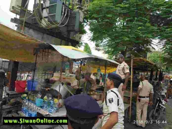 police in siwan