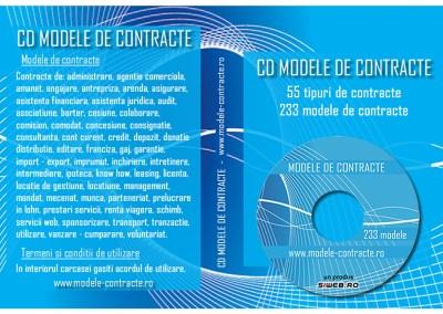 Coperta CD Contracte