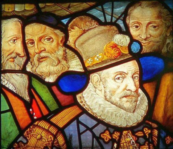 Gouda Sint Janskerk Glas Prinz von Oranien