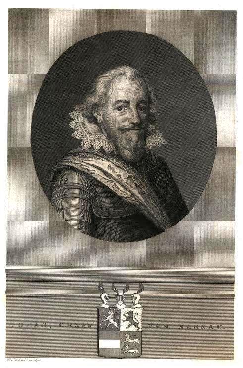 """Johann VII. """"der Mittlere"""" Graf zu Nassau-Siegen (1561-1623), Vorlage: Stadtarchiv Siegen"""