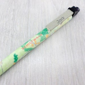 personalised map pens gifts for geography lovers