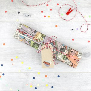 gift wrapping for superhero gifts boyfriend six0six design
