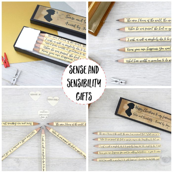 sense and sensibility book lover gifts for jane austen fans