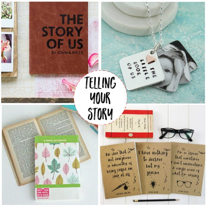 tell your story gifts for book lovers