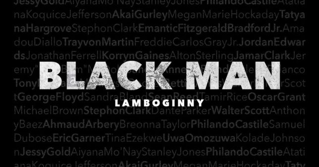 Lamboginny Black Man