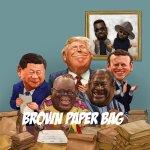 Sarkodie Brown Paper Bag