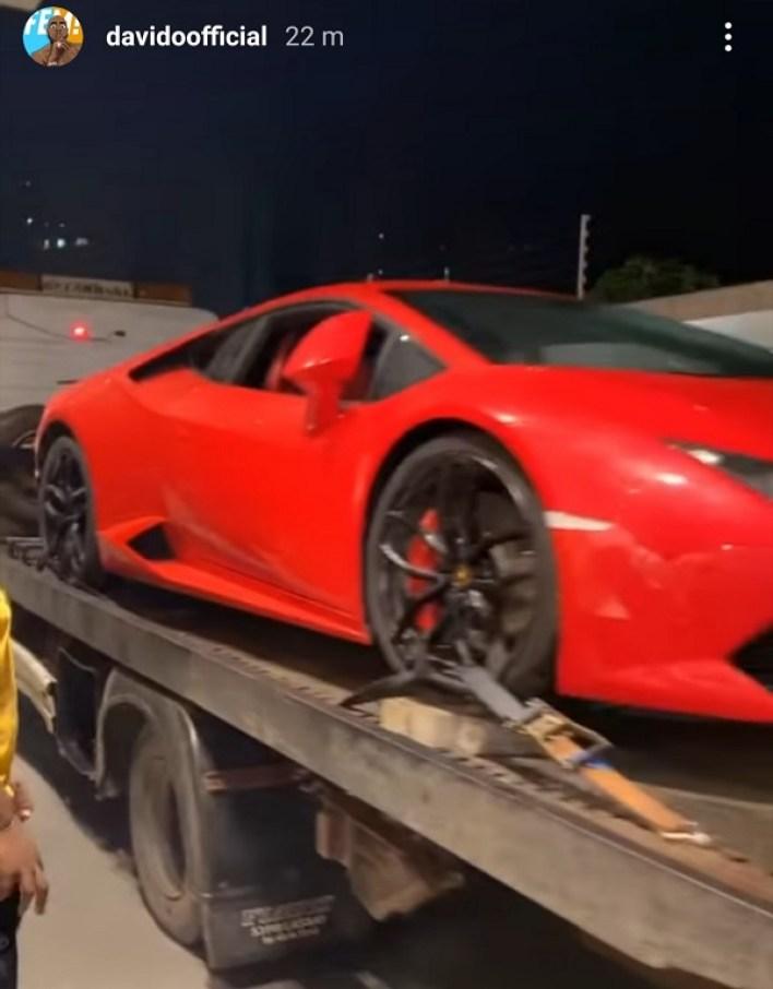 Davido Lamborghini 2