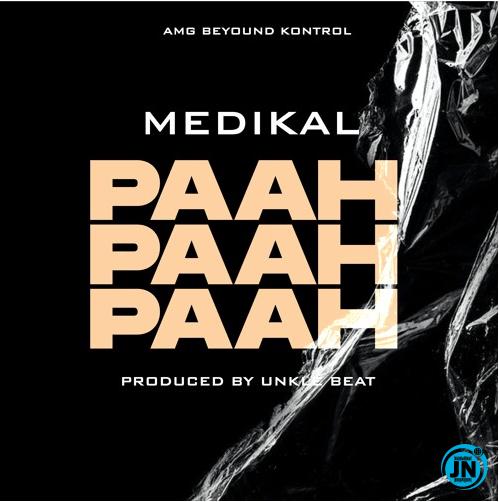 Medikal Paah Paah Paah artwork
