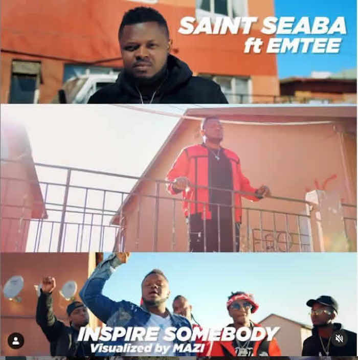 Video Saint Seaba Ft. Emtee – Inspire Somebody