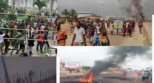 War in Benin City Edo State - Endsars protest