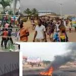 War in Benin City Edo State - Endsars protest