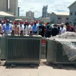 BUA Cement donates Two patrol vans and Six Transformers to host community.