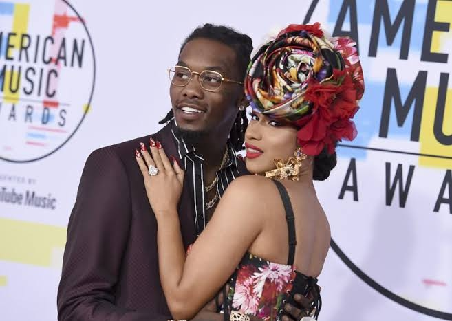 Offset makes joke with wife Cardi B after she was caught cleaning Video