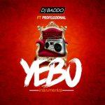 DJ Baddo Ft. Professional – Yebo Instrumental