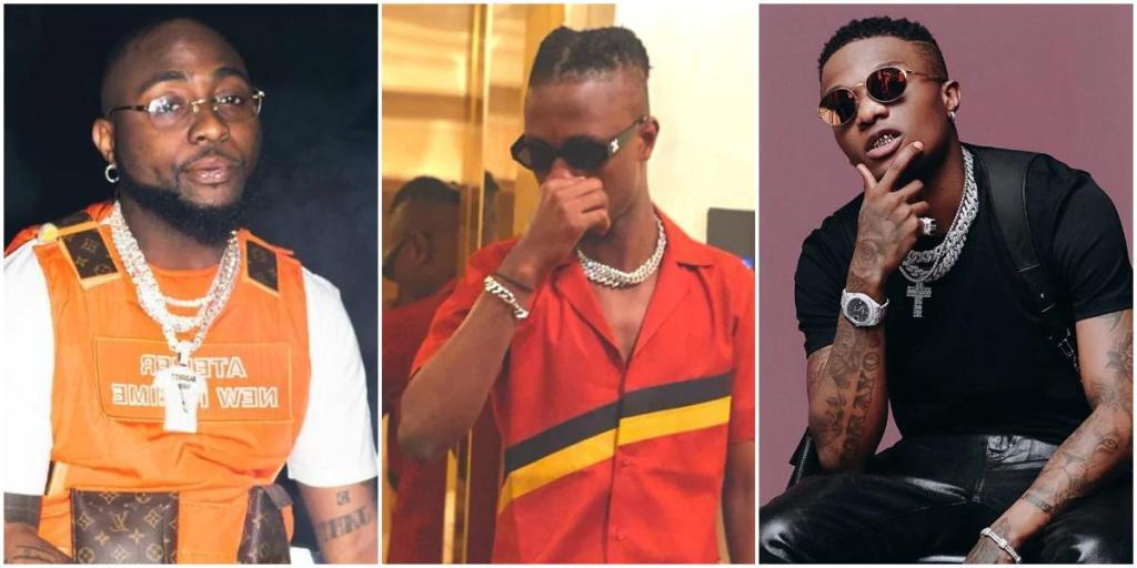 laycon beats davido wizkid as he tops chart of trending music in nigeria