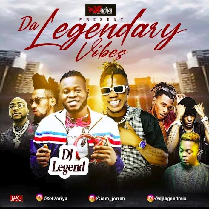 DJ Legend Legendary Vibes Mix mp3 download