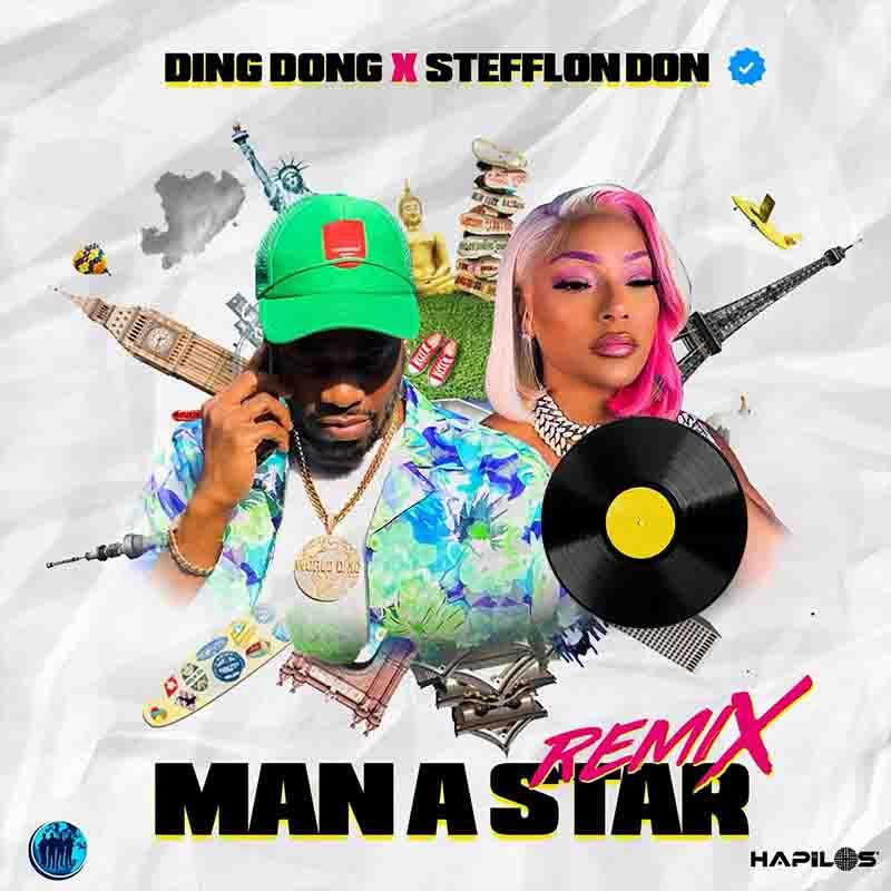 Ding Dong Man A Star Remix ft Stefflon Don mp3 download